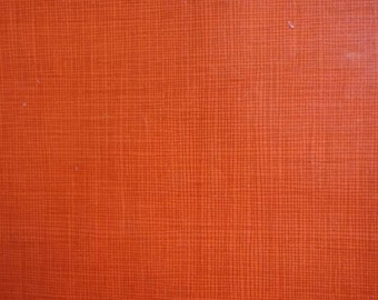 Vintage 1970s Wrapping Paper Orange You Lovely--All Occasion & Birthday Gift Wrap Paper--2 Sheets NIP