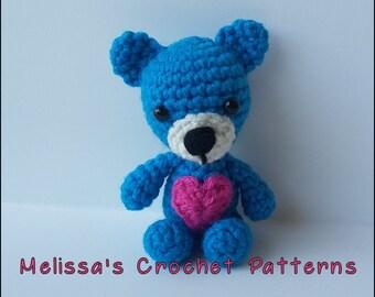 Crochet Pattern - Feel Better Teddy Bear