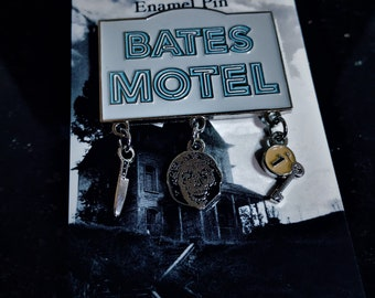 Bates Motel Glow-In-The-Dark Dangle Pin