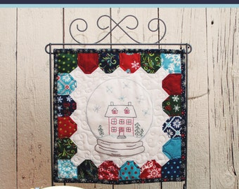 Hearth & Home Embroidery Pattern