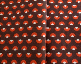 Fabric broadcloth spandex - Brown Tulip