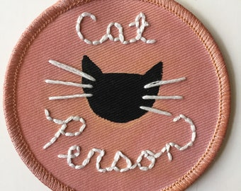 Cat Person Patch