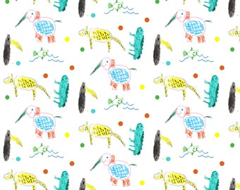 Turn your child's drawing into wallpaper!
