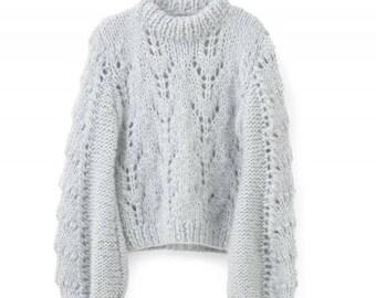 Alpaca or Mohair sweater