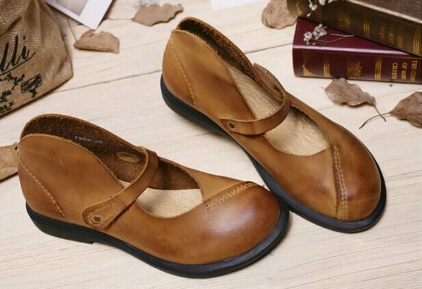 2 couleurs! Chaussures Chaussures couleurs! en cuir des femmes à la main, la mode chaussures plates, sandales en cuir mignon, été chaussures sandales pour femmes 6dcadc