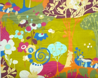 SALE : MoMo Wonderland Tea Time Pistachio moda fabrics FQ or more