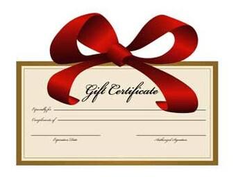 Gift Certificate - Custom 2 Piece Bikini