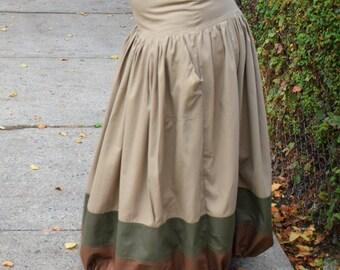 Fya Flex- Cotton Drawstring Skirt