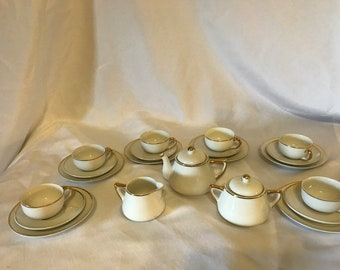 """1940""""s Meito China Tea Set From Japan"""