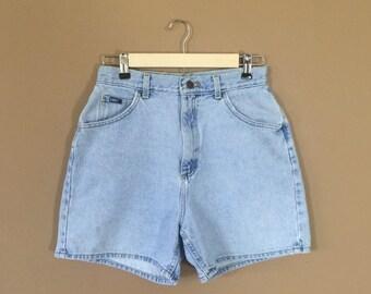 High Waisted Denim Shorts / 90s Jean Shorts / 90s Shorts / Levis High Waisted Denim Shorts / Levis Cutoffs / Denim Cutoffs / Cutoffs