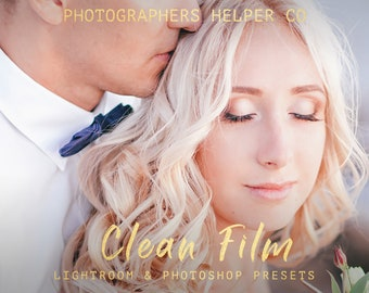 Clean Film Presets And ACRsWedding Lightroom Presets & Photoshop Filters for Modern Photographers