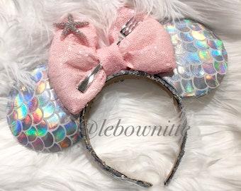 New millenial pink mermaid ears