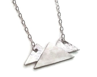 Mountain Necklace Sterling Silver