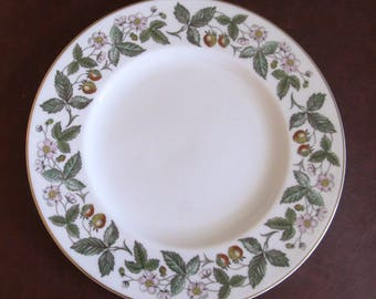 Two Wedgwood Strawberry Hill Dinner Plates, More Available, Bone China, Made in England