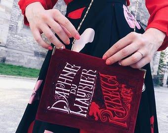 Embroidered Book-clutch Rebecca