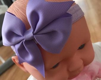 Thick Band Bow Headband