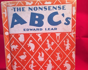 The Nonsense ABCs by Lear 1958