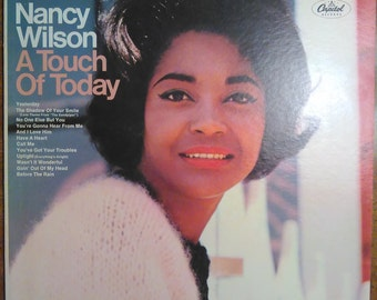 Nancy Wilson - A Touch of Today T-2495 Vinyl Record LP 1966