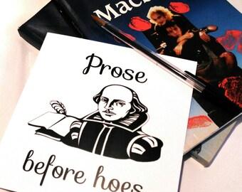 Shakespeare card