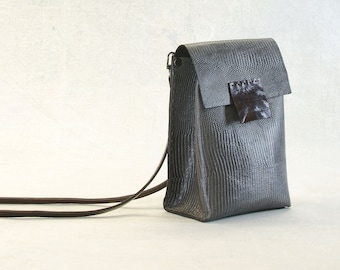 NEW - PORTEL TRAVEL Purse Gray