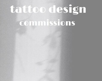 tattoo design or simple art commission