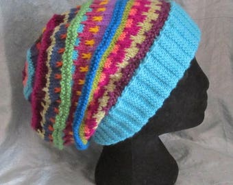 Stashbuster Slouch - KNITTING PATTERN – pdf file by automatic download