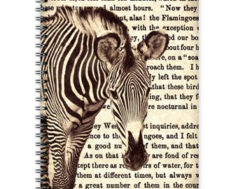 Notebook A5 - Zebra Typo