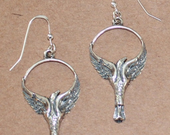 Earrings - Sterling Silver PHOENIX -
