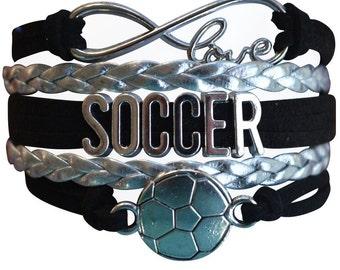 Soccer Gift -Soccer Bracelet – Soccer Team Gift - Soccer - Perfect for Soccer Players, Soccer Coaches & Team Gifts