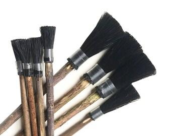 Marbling Brushes- Traditional Ebru Supplies