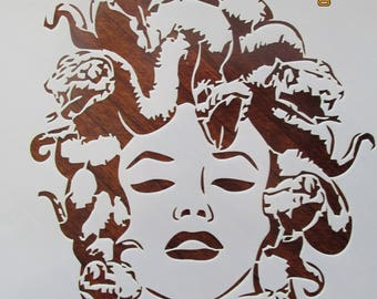 Medusa Stencil Reusable 10 mil Mylar Stencil