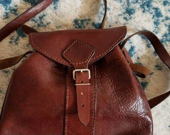 Vintage leather purse #4