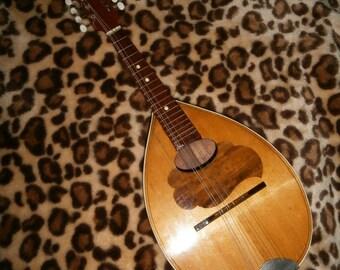 Vintage Czech Eight Strings Mandolin