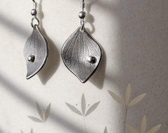 Silver Jewelry, Silver Jewellery, Silver Earrings, Hydrangea Earrings.