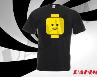 Lego head2 ,Kid's T-shirt