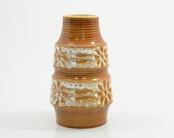 Vintage Pottery Vase Spara West Germany