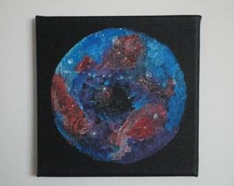 Galaxy Space Canvas