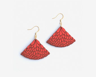ABANICO RED, Leaves Collection by Materia Rica