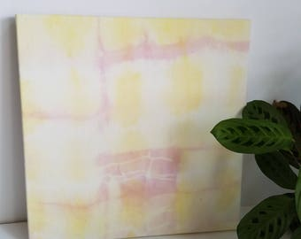 Naturally Dyed Fabric Wall Art