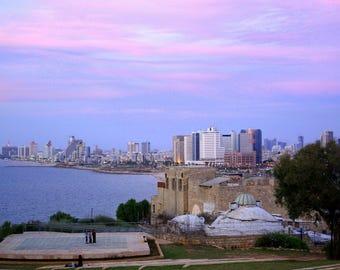 Laminated placemat Tel Aviv Israel