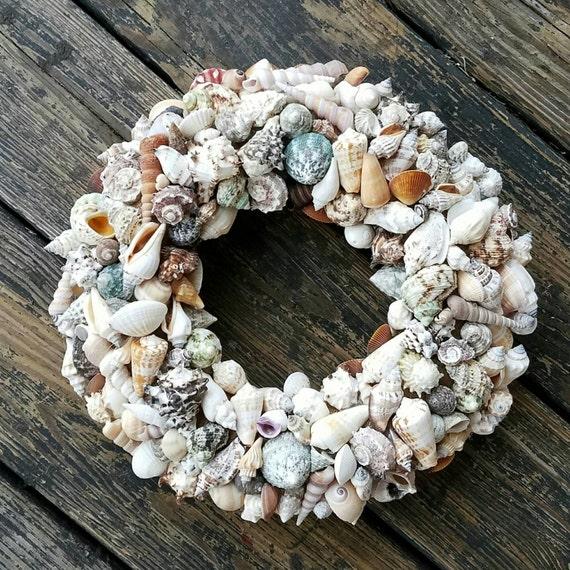 Wreath  -  Shell Wreath  -  Sea Shell Wreath