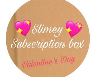 Slimey subscription box