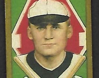 new just in 1911 t205 gold border walter johnson sweet caporal cigarettes back
