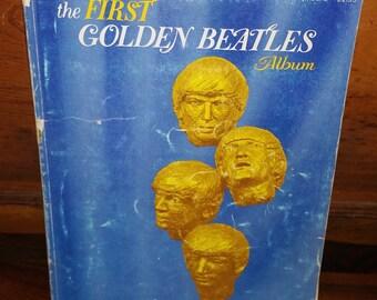 The First Golden Beatles Album Vintage Paperback Sheet Music Book
