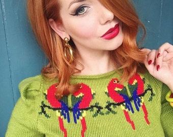 Lovebirds Sweater - Green