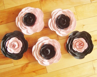 5 - 6 Inch Paper Flower Ranunculus - Paper Flowers | Paper Flower Wall | Paper Roses | Paper Ranunculus | Paper Flower Ranunculus