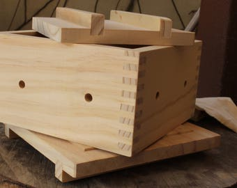 Quality Wooden Tofu Maker Kit (Large)/ Tofu Mold/Tofu Box