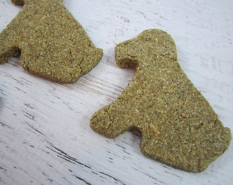 Cheesy Dogs Gourmet Dog Treats ~ Wheat Free Homemade Bakery Dog Biscuits ~ Cheese Puppy Shaped Dog Cookies ~ Healthy Dog Treats ~ Dog Snacks