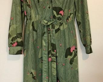 Vintage Lilypad dress