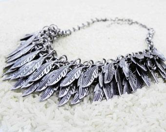 Silver Phoenix Necklace